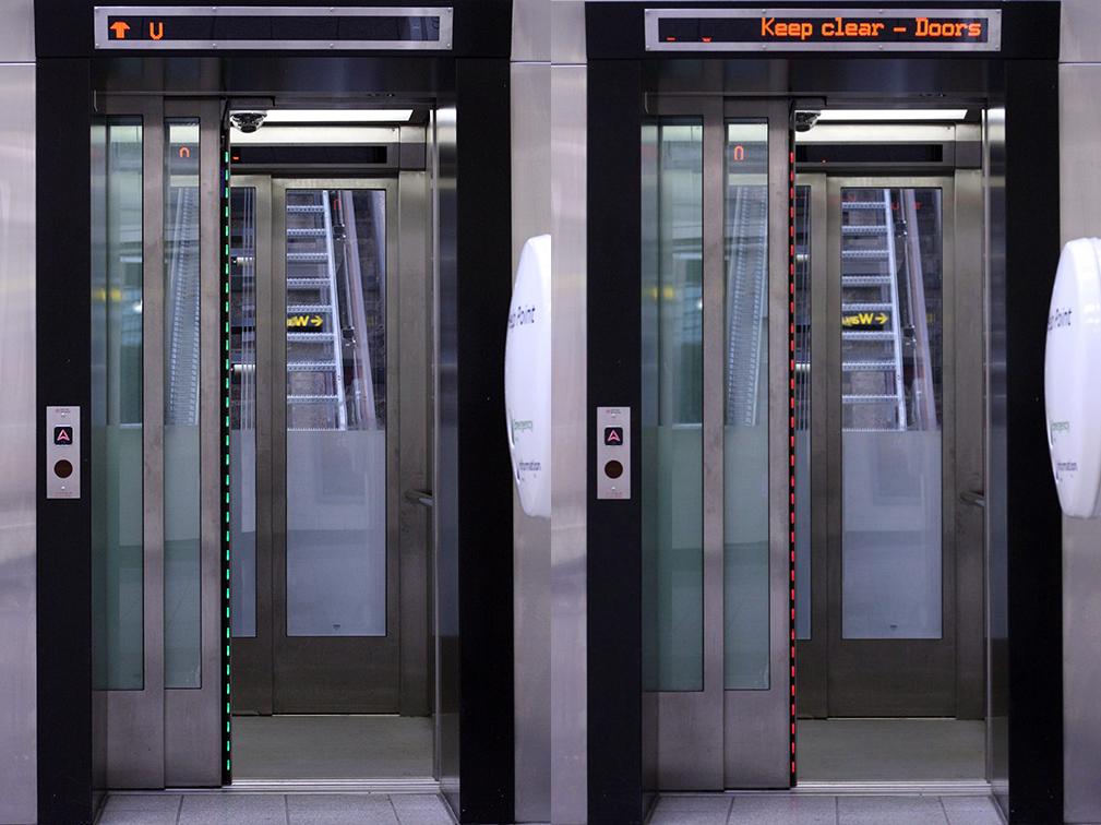 欧捷Panachrome光幕为英国伦敦地铁首个电梯项目保驾护航