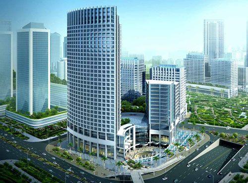 高德置地广场配套欧捷多媒体显示器,打造广州发展核心