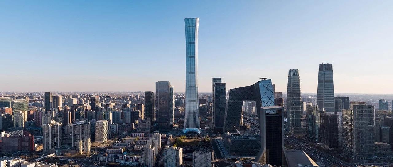 欧捷多媒体显示器入驻北京地标中国尊
